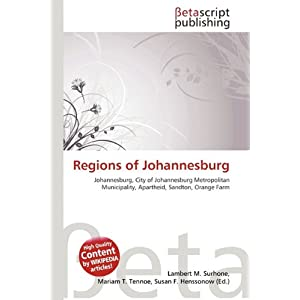 Regions Of Johannesburg | RM.