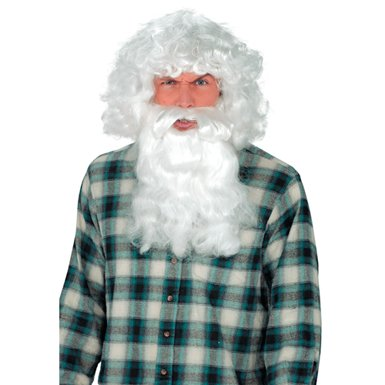 Old Man Wig with Beard Deluxe