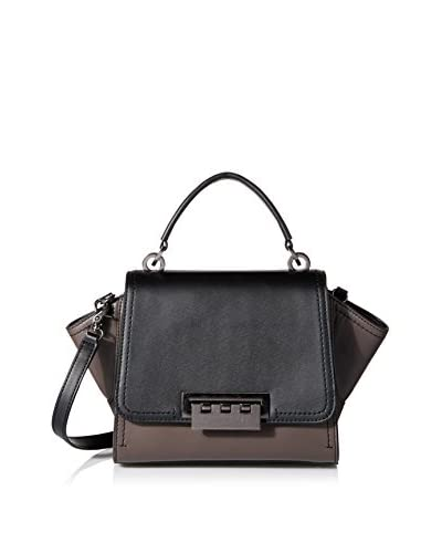 ZAC Zac Posen Women's Colorblock Eartha Mini Top Handle Crossbody, Shadow
