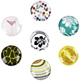 Toddy Gear Eye Candy Home Button Set, 7 Designs - 1 Pack - Charm - Retail Packaging - Eye Candy
