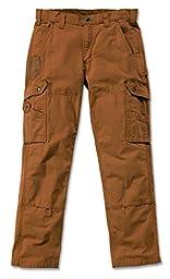 Carhartt Pants Cotton Ripstop, Color:carhartt brown;Größe:w 36 / l 34