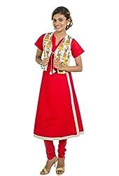 Kandida Indian Gypsy Women Print Long Cotton Kurta