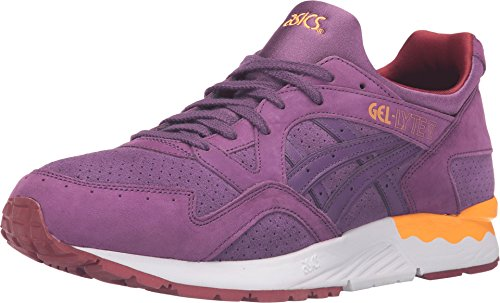 Onitsuka Tiger by Asics Unisex Gel-Lyte? V Purple/Purple Sneaker Men's 8, Women's 9.5 Medium