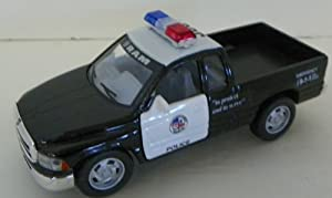 Kinsmart 1/44 Scale Diecast Dodge Ram Police Truck in Police Colors