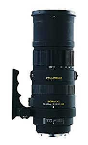 Sigma 150-500mm f/5-6.3 AF APO DG OS HSM Telephoto Zoom Lens for Nikon Digital SLR Cameras