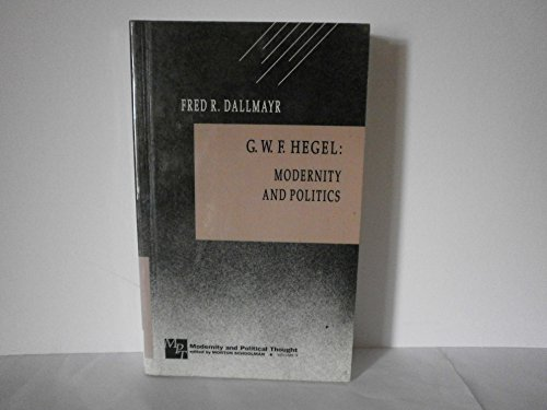 g-w-f-hegel-modernity-and-politics-modernity-and-political-thought