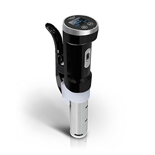 Nutrichef Sous Vide Thermal Immersion Circulator For Precise & Even Cooking| Durable Stainless Steel Stick, Ergonomic Handle & Temperature Control| For Meat/Steak/Chicken/Vegetables/Fish & More