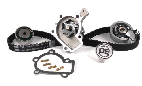 ACDelco TCKWP284A Professional Timing Belt and Water Pump Kit with Tensioner and Idler Pulley