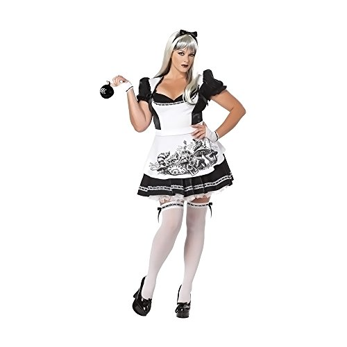 Dark Alice Costume - Plus Size 2X - Dress Size 18-20