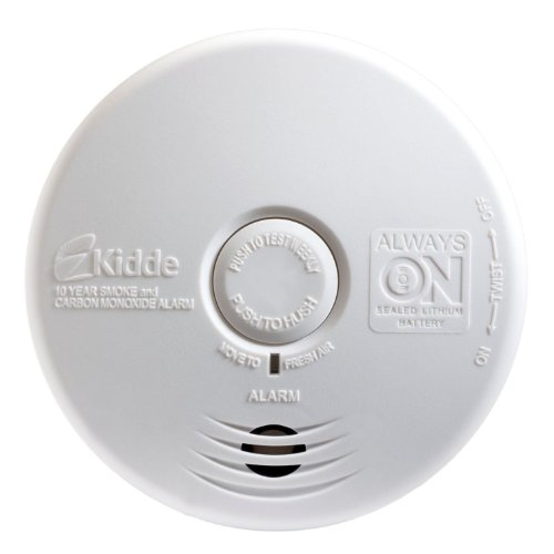 Kidde P3010K-CO Worry-Free Kitchen Smoke and Carbon Monoxide Alarm with 10 Year Sealed Battery (4 Pack) (Kitchen Smoke Alarm compare prices)