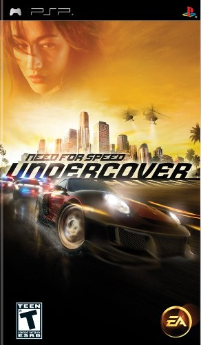 Need For Speed Undercover - PSP
