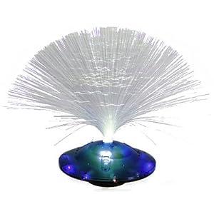 glasfaser tischlampe ufo blau k che haushalt. Black Bedroom Furniture Sets. Home Design Ideas