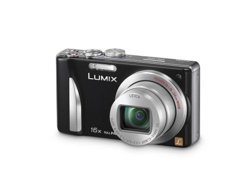 Panasonic DMC-TZ25EB-K Compact Camera - Black (12.1MP, 16x Optical Zoom) 3 inch LCD