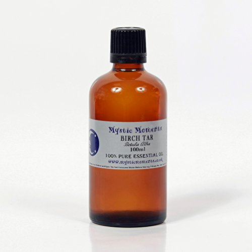 Mystic Moments Birch Tar Essential Oil 100% Pure 100ml