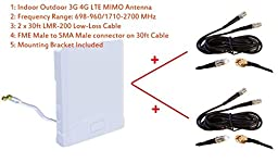 3G 4G LTE Indoor Outdoor wide band MIMO Antenna for Cradlepoint AER1600 AER1650 w/ Embedded Modem