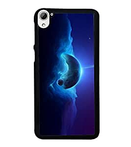 printtech Space Fantasy Planet Back Case Cover for HTC Desire 826