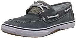Sperry Top-Sider Halyard Boat Shoe (Toddler/Little Kid/Big Kid), Navy, 6 M US Big Kid