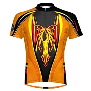 Buy Primal Wear Phoenix Cycling Jersey Mens Short Sleeve with DeFeet bicycle sox by Primal