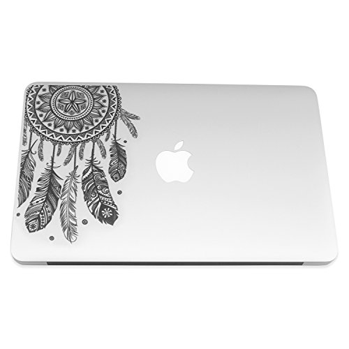 Easy Gift ® Dream Catcher Decal Removable Vinyl Macbook Decal Sticker Decals Skin with Precision-cut for Apple Macbook Air Macbook Pro Mac Laptop13 Inch