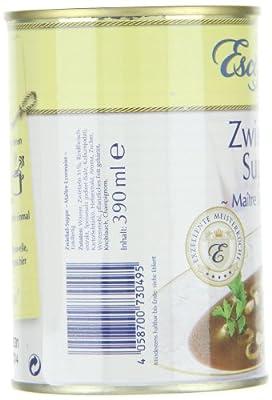 Escoffier Zwiebel-Suppe, 3er Pack (3 x 390 ml) von Escoffier bei Gewürze Shop