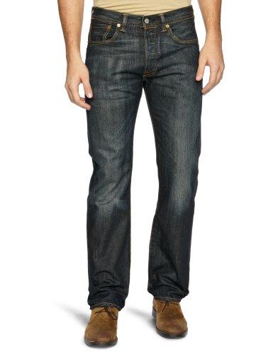Levi's 501 Straight Men's Jeans Dusty Black W33 INxL32 IN