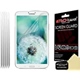 TECHGEAR SM-T310 Clear LCD Screen Protectors for 8.0 inch Samsung Galaxy Tab 3 T311/T315 (Pack of 5)