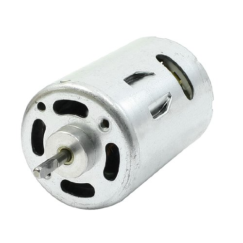 8000Rpm Dc 12V 24Mm Dia 2 Pins Connecter Electric Micro Motor