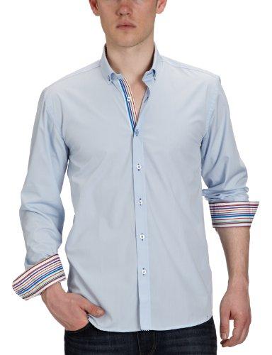 Selected One Mix Light Blue Casual Shirt - Medium
