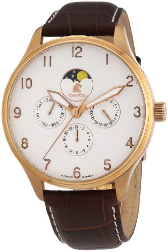 Carucci Gents Watch Automatic CA2136WH-RG