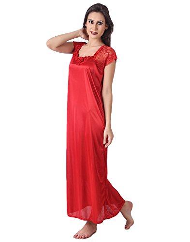 55% OFF on Masha Women s Satin Nightdress (Free Size) on Amazon ... 26a4410ae