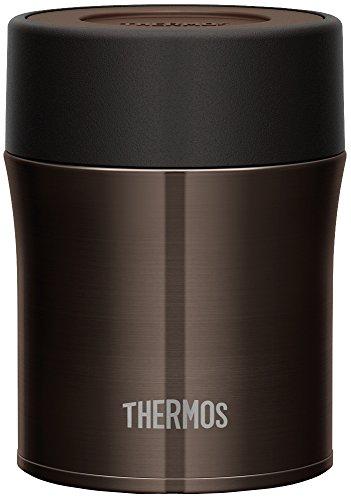 THERMOS vacuum insulated food container 0.5 L black JBM-500 BK