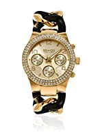 So&Co New York Reloj de cuarzo Woman GP15515 Negro / Dorado