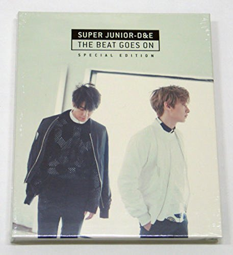 Super Junior D&E DONGHAE & EUNHYUK - The Beat Goes On (Special Edition) CD+Photo Booklet+Folded Poster+Extra Gift Photocards Set