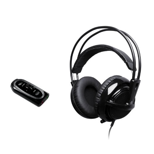 SteelSeries Siberia V2 Full Size USB Headset - Black (PC)