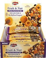 Glenny\'s Classic Whole Fruit & Nut Bar 12 per box 13.2 oz
