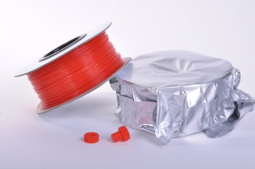 Zen Toolworks 3D Printer 1.75mm Red PLA Filament 1kg (2.2lbs) Spool