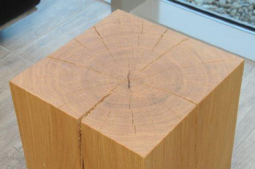 Holzblock couchtisch com forafrica for Holzklotz als beistelltisch