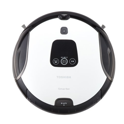 Toshiba robot vacuum cleaner (pearl white) Smarbo V (Sumabovui) VC-RB8000-W (Toshiba Vacuum Cleaner compare prices)