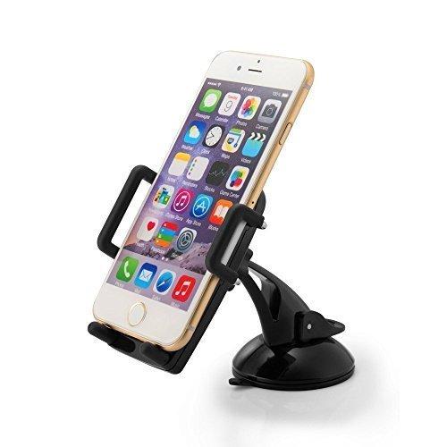 Supporto Auto Smartphone TaoTronics Porta Cellulare Universale TT-SH07 per iPhone, Smartphone Android, Telefoni Cellulari 360 Gradi di Rotazione