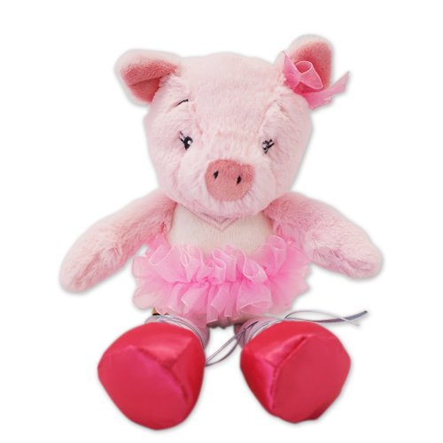 Nat and Jules Twirling Tutus Plush Toy, Pig Priscilla
