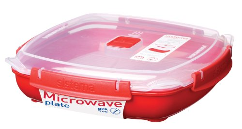 1.3 Litre Large Microwave Plate 1106 9414202011060 By Sistema