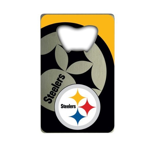 Nfl Pittsburgh Steelers Credit Card Style Bottle Opener