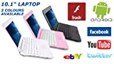 NEW SLIM MINI Laptop Netbook Notebook 10 inches - WIFI - Android 4.0 ICS System, 1.2GHz CPU