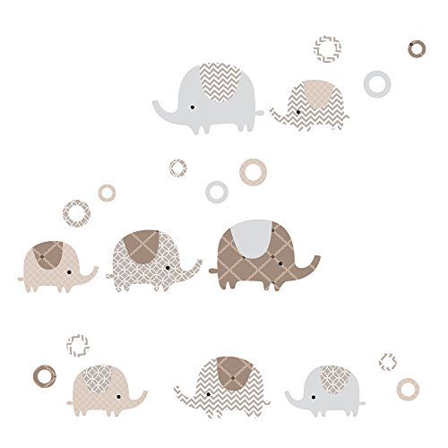 Lambs & Ivy Oatmeal Cookie Wall Appliques
