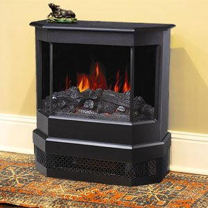 Comfort Smart 760 Black Electric Fireplace Stove - CFS-760-1