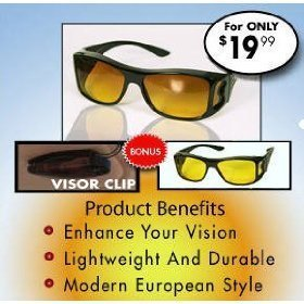 HD Combo Pack Night Vision and Day Vision + Visor Clip