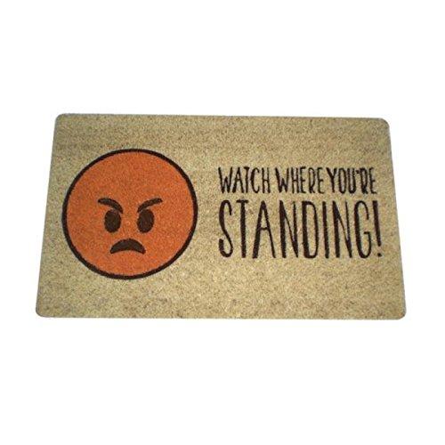 Zerbino design Emoji Emoticon Emoti Arrabbiata Watch Where You are Standing