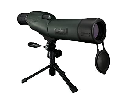 Bushnell Trophy XLT 15-45x 50mm Waterproof Compact Tripod Spotting Scope with Hard and Soft Cases from Bushnell