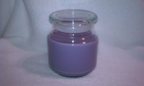 Hyacinth Soy Wax Candle 16oz (Purple)