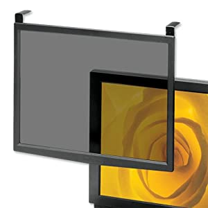Compucessory Screen Filter Glass Anti-glare-radiation-static CRT LCD 16-17in Grey Frame Ref CCS20553